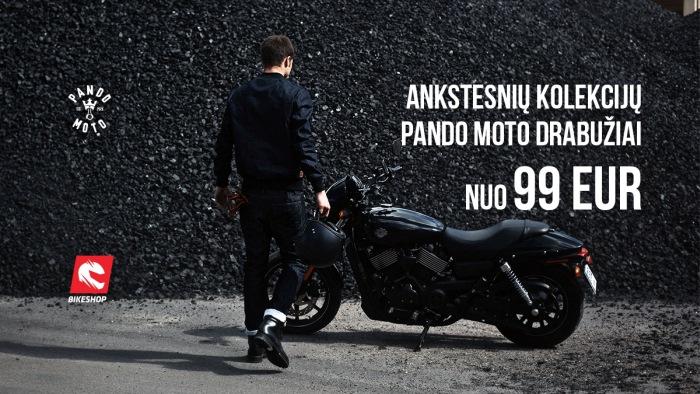 PANDO MOTO ankstesnių modelių išpardavimas!!