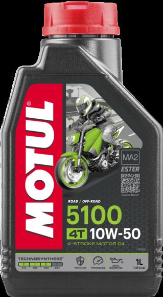 Pusiau sintetinė alyva MOTUL 5100 Ester 10W-50 1L