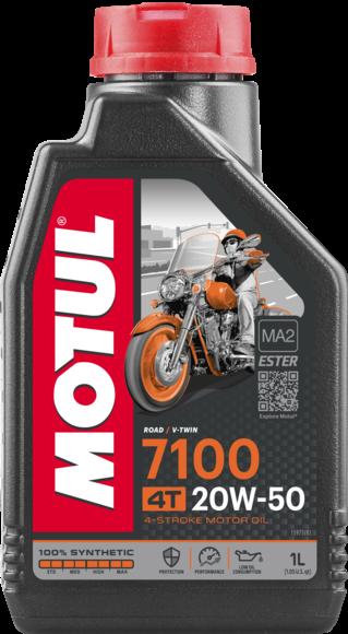 Pilnai sintetinė alyva MOTUL 7100 Ester 20W-50 1L