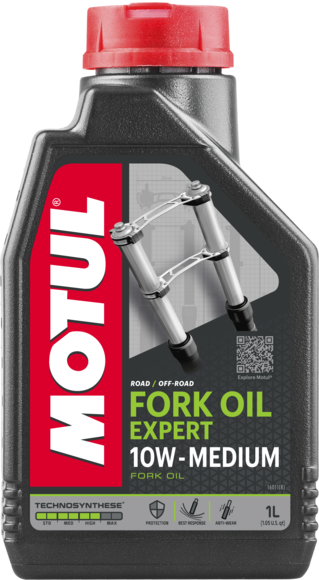 Šakių tepalas MOTUL Fork Oil Expert MD. 10W 1l.