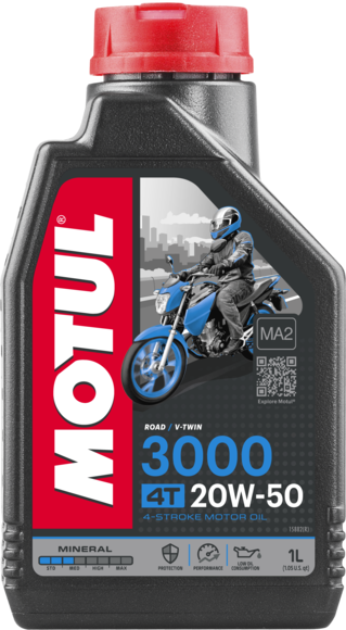 Mineralinė alyva MOTUL 3000 4T 20W-50 1L