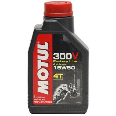 Pilnai sintetinė alyva MOTUL 300V Factory Line 15W-50 1L