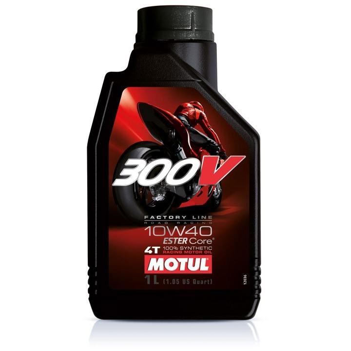 Pilnai sintetinė alyva MOTUL 300V Factory Line 10W-40 1L