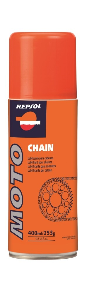 Grandinės tepalas REPSOL Moto Chain 400ml