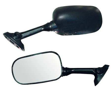 Veidrodžiai motociklams SUZUKI GSX-R (juodi)