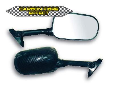 """Veidrodžiai motociklams SUZUKI GSX-R (""""carbon look"""")"""