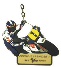 "Raktų pakabukas ""MotoGp Legends"" - FREDDIE SPENCER #1"