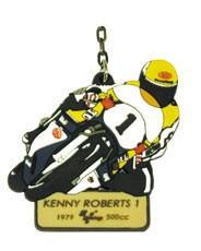 """Raktų pakabukas """"MotoGp Legends"""" - KENNY ROBERTS#1"""