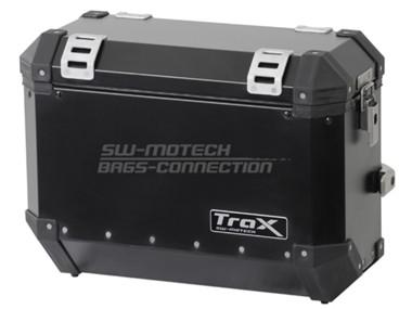 TraX šoninė 37 l talpos dėžė, juoda