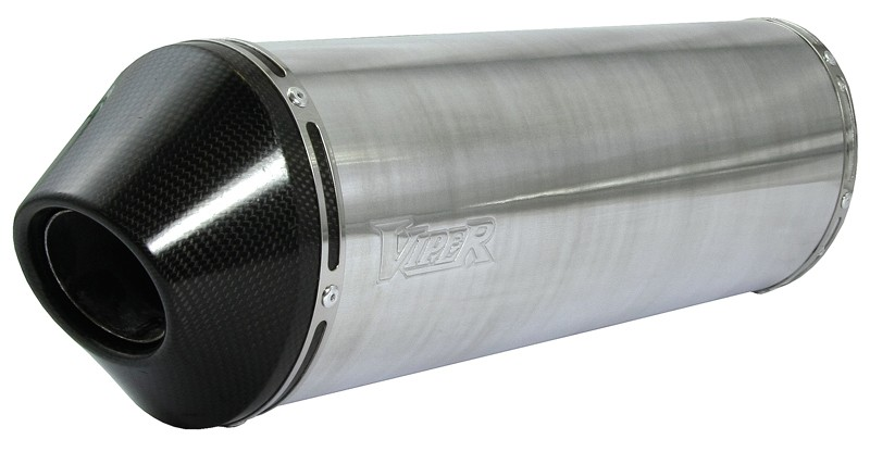 Viper Alloy Oval Stubby duslintuvas Yamaha FZS1000 Fazer* 00-06