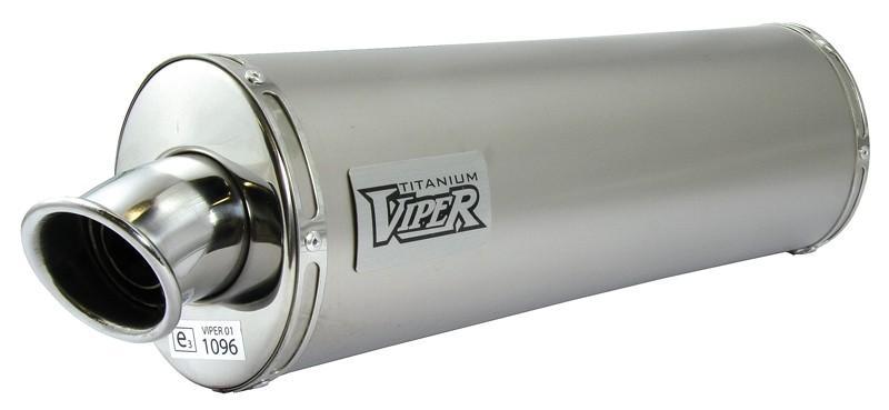 Viper Titanium Oval (E) duslintuvas Honda VFR800 Fi W-1* 97-01