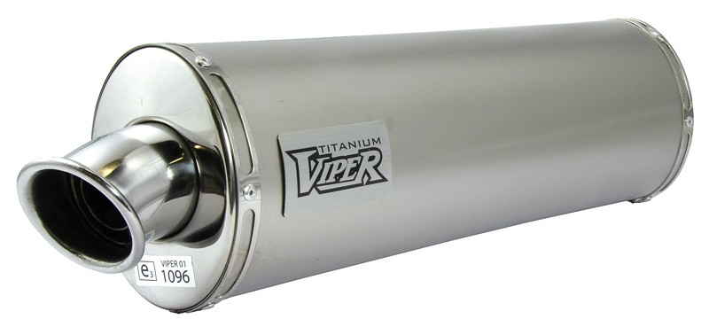 Viper Titanium Oval (E) duslintuvas Suzuki SV650 /S §* 03>