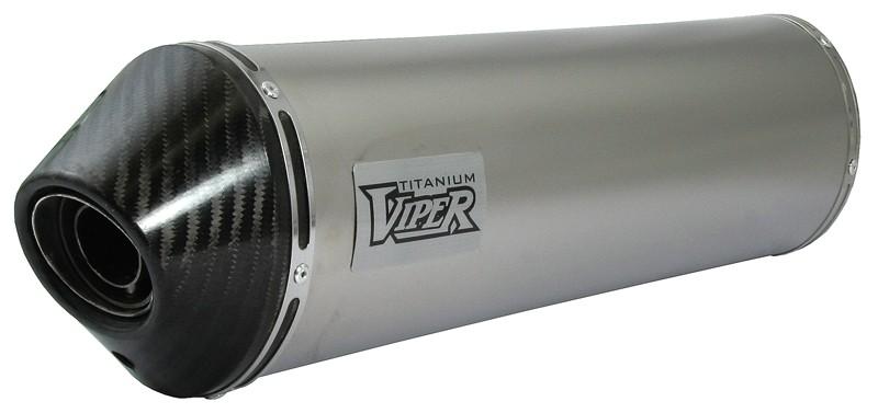 Viper Titanium Oval duslintuvas Honda VFR800 Fi W-1* 97-01