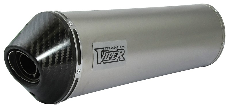 Viper Titanium Oval duslintuvas Honda CBF500 04-06