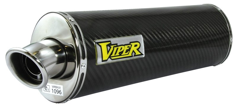 Viper Carbon Fibre Oval (E) duslintuvas Kawasaki ZX-10R Ninja C*