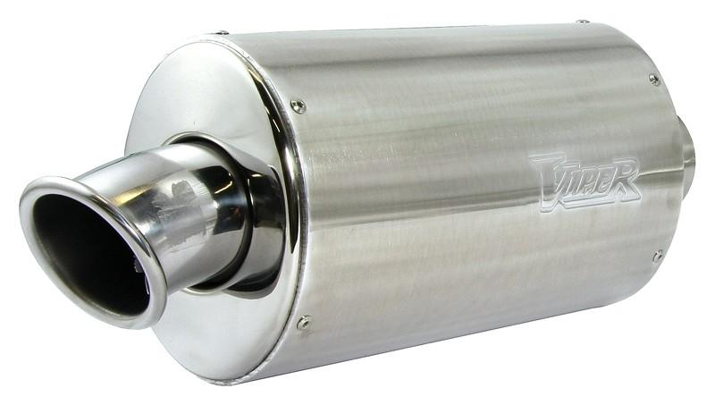 Viper Alloy Oval Micro (20cm) duslintuvas Kawasaki Z750/S 04-06