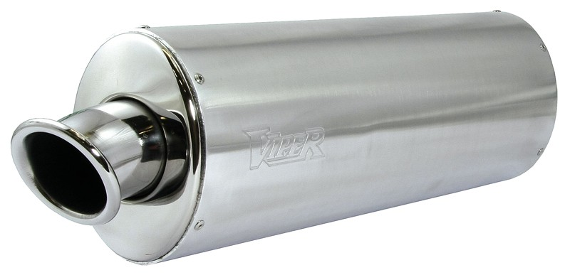 Viper Alloy Oval Stubby duslintuvas Kawasaki ZX-9R Ninja e* 00-0