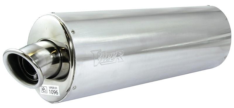 Viper Alloy Oval (E) duslintuvas Honda VFR800 Fi W-1* 97-01
