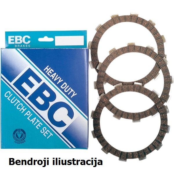 Sankabos frikcinių diskų komplektas EBC-CK3357