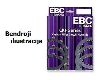 Sankabos frikcinių diskų kompl. EBC-CKF2325 (Carbon Fibre)