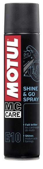 Valiklis MOTUL Shine & Go silicone 400ml