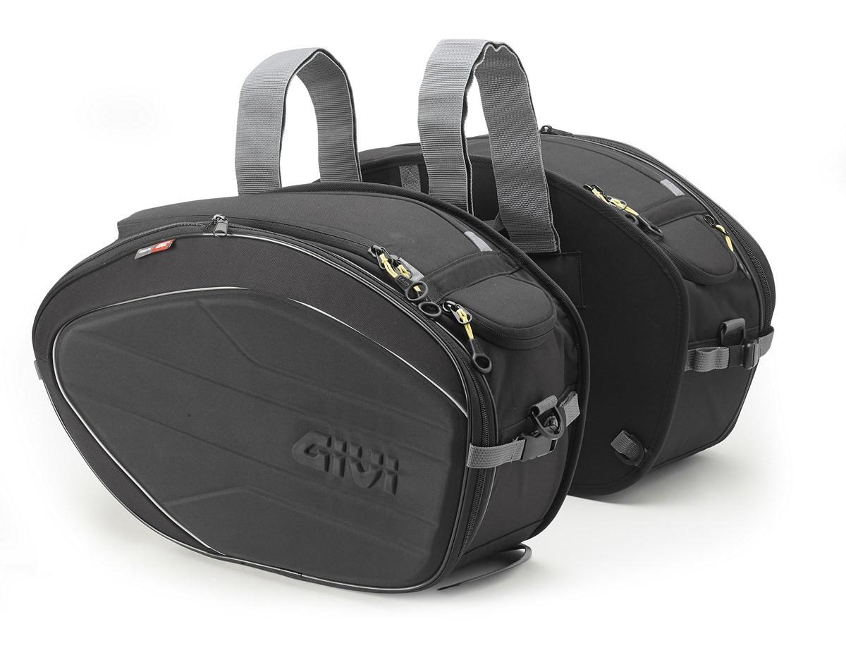 Praplečiami 28/35L šoniniai krepšiai Givi (EA100B)