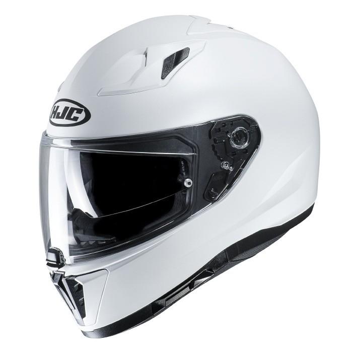Helmet HJC I70 SEMI FLAT PEARL WHITE