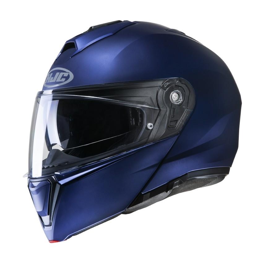 Šalmas HJC i90 UNI (Semi Flat Metalic Blu)