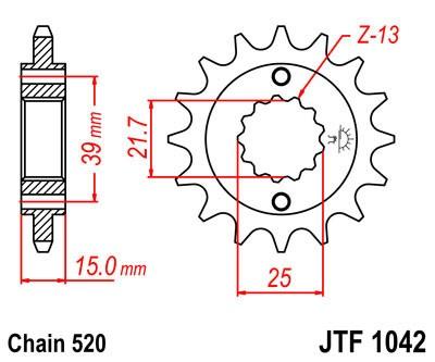 Priekinė žvaigždė JT (JTF 1042-14)