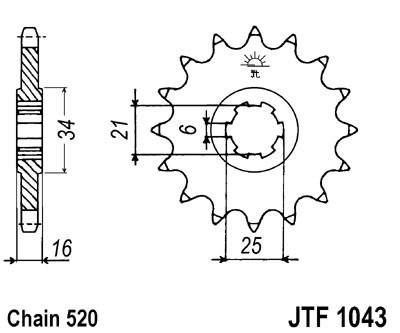 Priekinė žvaigždė JT (JTF 1043-14)