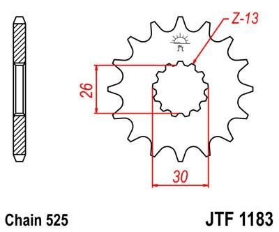 Priekinė žvaigždė JT (JTF 1183-17)