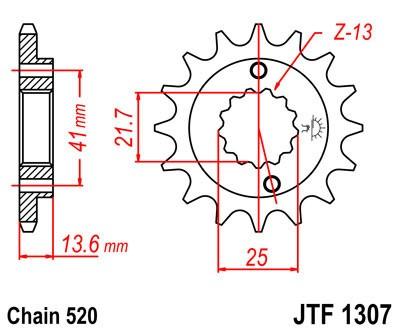 Priekinė žvaigždė JT (JTF 1307-15)