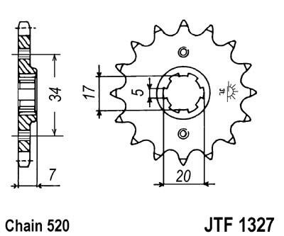 Priekinė žvaigždė JT (JTF 1327-15)