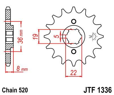 Priekinė žvaigždė JT (JTF 1336-12)