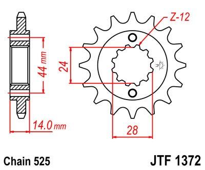 Priekinė žvaigždė JT (JTF 1372-17)
