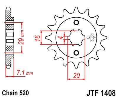 Priekinė žvaigždė JT (JTF 1408-15)