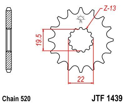 Priekinė žvaigždė JT (JTF 1439-14)
