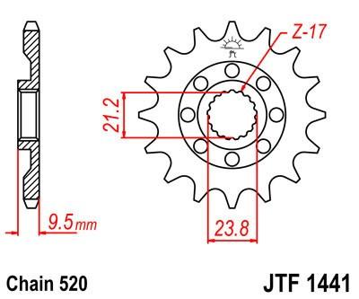 Priekinė žvaigždė JT (JTF 1441-15)