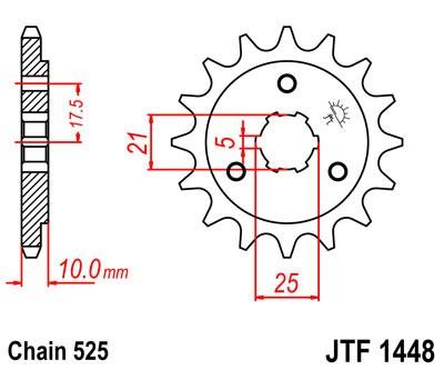 Priekinė žvaigždė JT (JTF 1448-15)