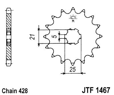 Priekinė žvaigždė JT (JTF 1467-13)