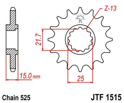 Priekinė žvaigždė JT (JTF 1515-14)