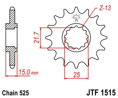 Priekinė žvaigždė JT (JTF 1515-15)
