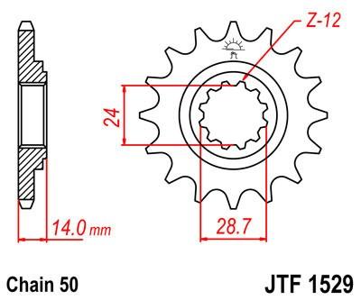 Priekinė žvaigždė JT (JTF 1529-17)