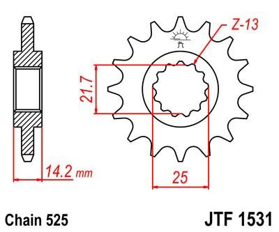 Priekinė žvaigždė JT (JTF 1531-15)