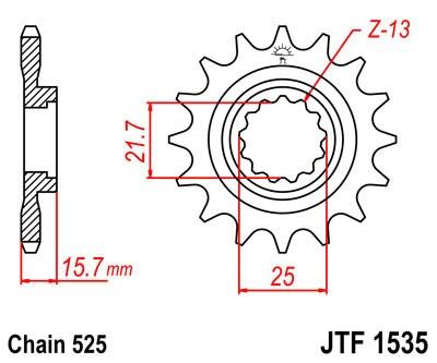 Priekinė žvaigždė JT (JTF 1535-15)