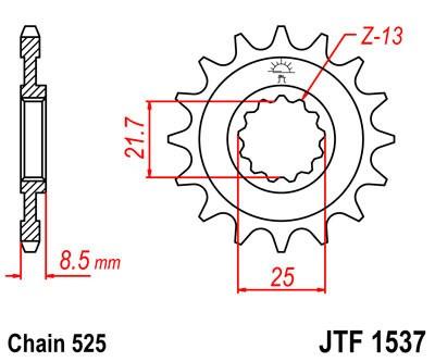 Priekinė žvaigždė JT (JTF 1537-17)