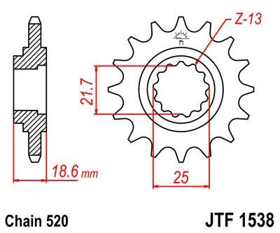 Priekinė žvaigždė JT (JTF 1538-14)