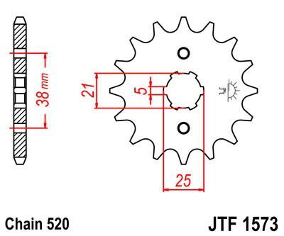 Priekinė žvaigždė JT (JTF 1573-13)
