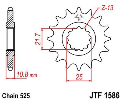 Priekinė žvaigždė JT (JTF 1586-17)