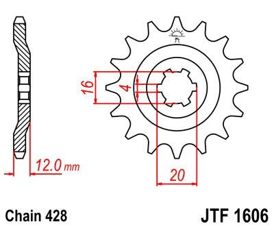 Priekinė žvaigždė JT (JTF 1606-14)